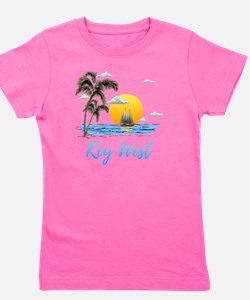 Cute Sailboats Girl's Tee