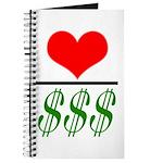 Love Over Money Journal