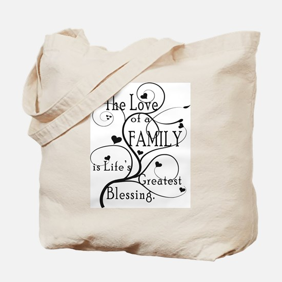 Love of Family Tote Bag