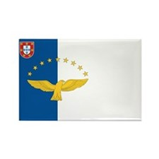 Azores Flag Rectangle Magnet