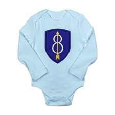 Golden Arrow Long Sleeve Infant Bodysuit