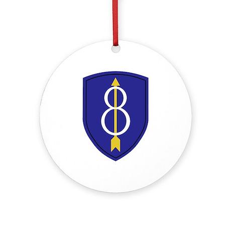 Golden Arrow Ornament (Round)