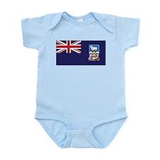 Falklands Flag Infant Bodysuit