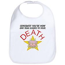Funny Cake death Bib