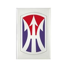 Unique Army infantry Rectangle Magnet (100 pack)