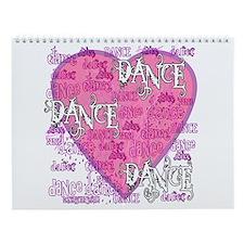 Dance Dance Dance Wall Calendar