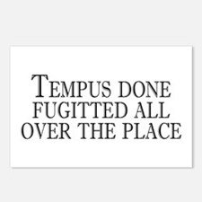 tempus fugitted Postcards (Package of 8)