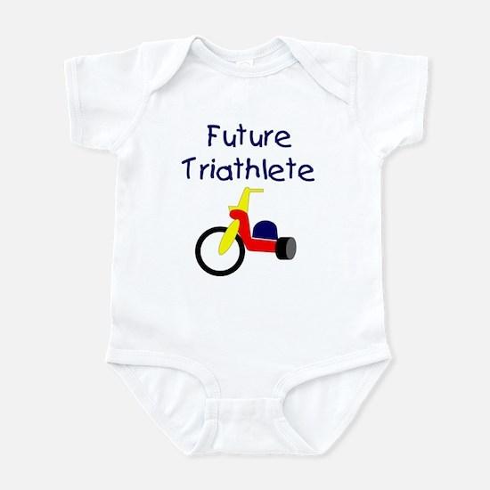 """""""Future Triathlete"""" Infant Creeper"""