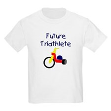 """Future Triathlete"" Kids T-Shirt"