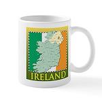 Ireland Map and Flag Mug
