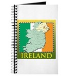 Ireland Map and Flag Journal