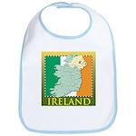 Ireland Map and Flag Bib