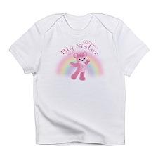 Rainbow Bear Big Sister Infant T-Shirt