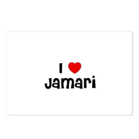 I * Jamari Postcards (Package of 8)
