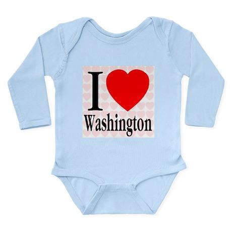 Washington Long Sleeve Infant Bodysuit