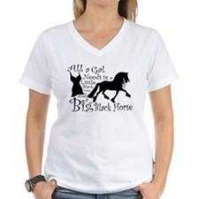 Big Black Horse Shirt