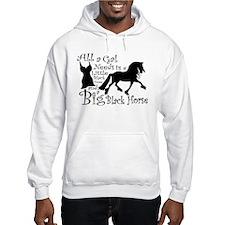 Big Black Horse Hoodie