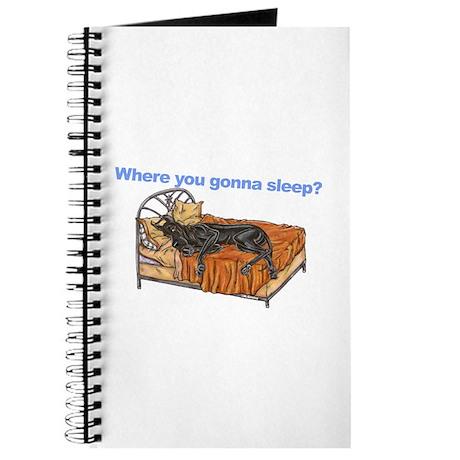 CBlk Where you gonna sleep Journal
