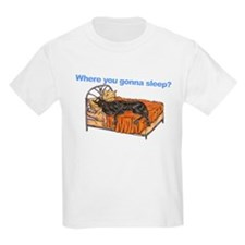 CBlk Where you gonna sleep T-Shirt
