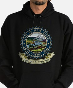 South Dakota Seal Hoodie (dark)