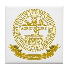 Tennessee Seal Tile Coaster