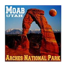 Moab, UT Tile Coaster