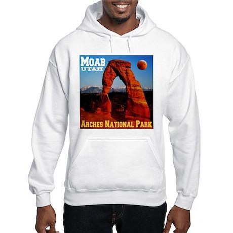 Moab, UT Hooded Sweatshirt