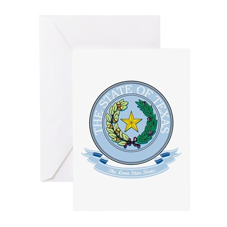 Texas Seal Greeting Cards (Pk of 10)