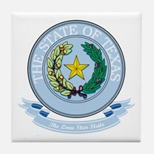 Texas Seal Tile Coaster