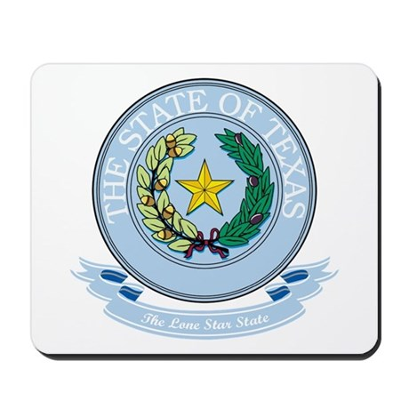 Texas Seal Mousepad