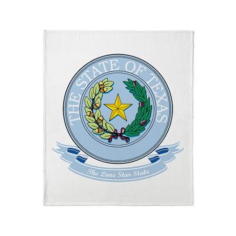 Texas Seal Throw Blanket