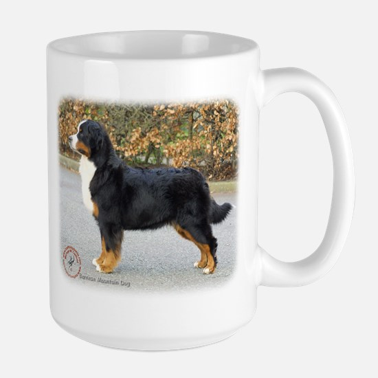 Bernese Mountain Dog 9T066D-221 Large Mug
