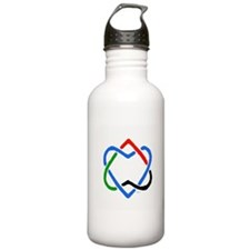Peace Shalom Salaam Water Bottle