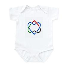 Peace Shalom Salaam Infant Bodysuit