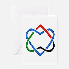 Peace Shalom Salaam Greeting Card