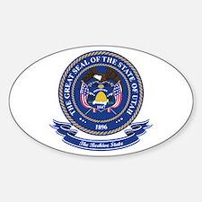 Utah Seal Sticker (Oval)