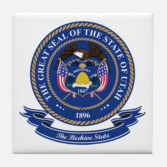 Utah Seal Tile Coaster
