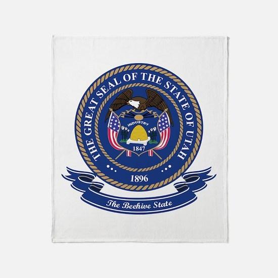 Utah Seal Throw Blanket