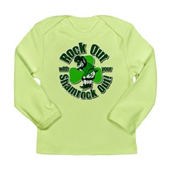 Rock Out With Your Shamrock Out Long Sleeve Infant