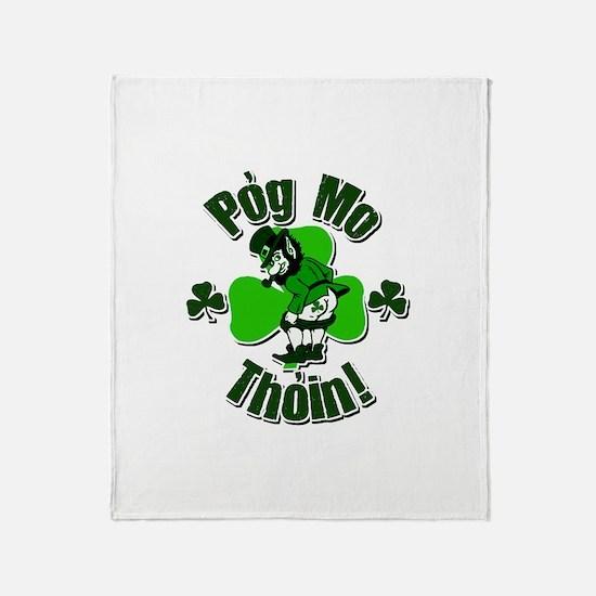 Pog Mo Thoin Throw Blanket