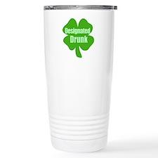 Designated Drunk Saint Patric Travel Mug