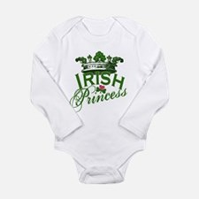 Irish Princess Tiara Long Sleeve Infant Bodysuit