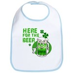Here For The Beer! Bib