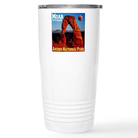 Moab, UT Stainless Steel Travel Mug