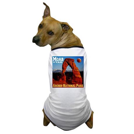 Moab, UT Dog T-Shirt