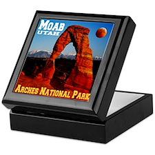 Moab, UT Keepsake Box