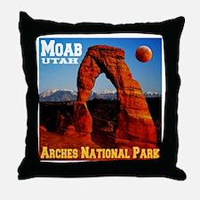 Moab, UT Throw Pillow