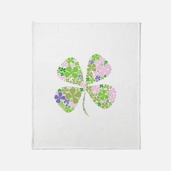 Unique Lucky irish Throw Blanket