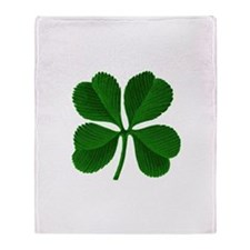Cute St patrick's day Throw Blanket