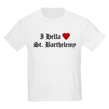 Hella Love St. Barthelemy Kids T-Shirt